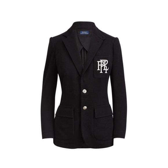 Lauren CoatsPolo Customfit Blazer Black Ralph Fleece Jacketsamp; nOmN0vw8